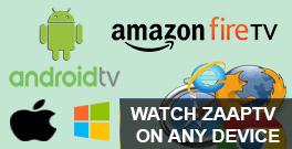 ZAAPTV COMPATIBLE DEVICES